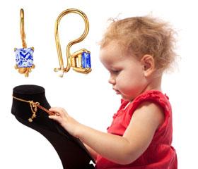 Детская коллекция украшений