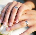 Обручальные кольца из золота и серебра