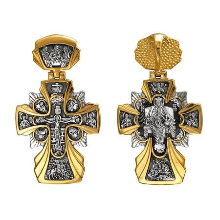 Крест нательный Распятие. Державная