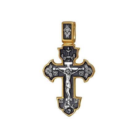 Крест нательный Распятие. Ангел Хранитель