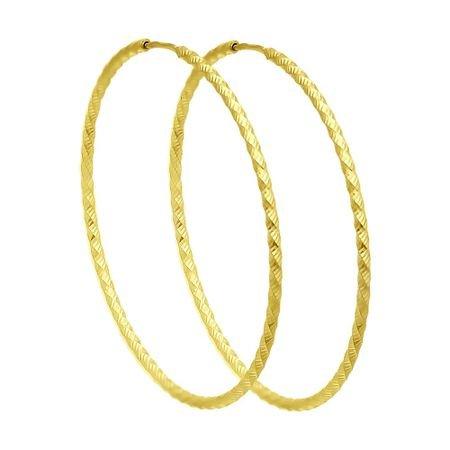 Серьги из желтого золота с алмазной гранью SOKOLOV 140153-2