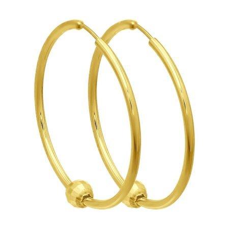 Серьги из желтого золота SOKOLOV 140111-2