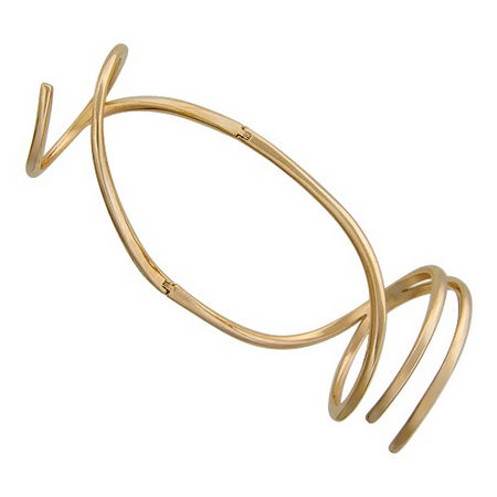 Кольцо на две фаланги из красного золота