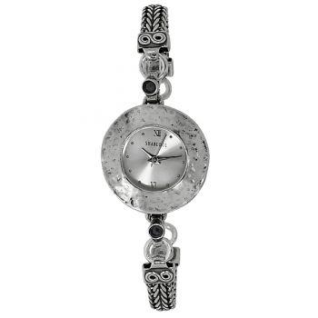 Часы Deno из серебра с ониксом 01W660ON