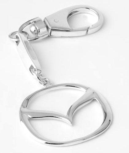 Брелок для автомобиля из серебра Mazda