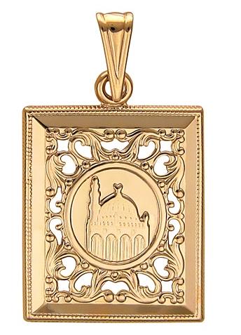 Подвеска из золота 01П011508