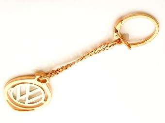 Брелок для автомобиля из золота Volkswagen