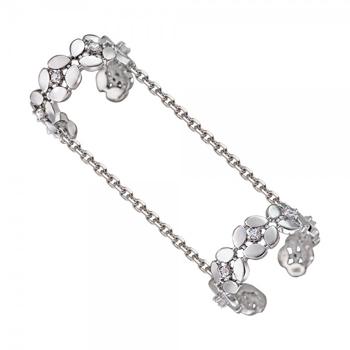 Кольцо на две фаланги из серебра 01К158078