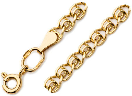 Золотой браслет полый Love 7040270P