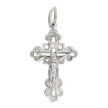 Крестик золотой нательный 01Р020399