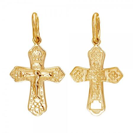 Крест серебряный нательный 01Р050903А