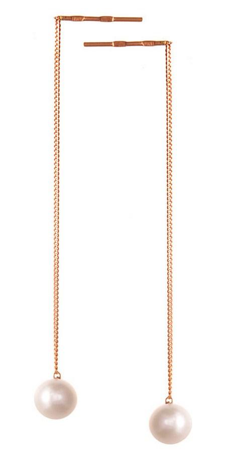 Серьги золотые Митра СП1-104
