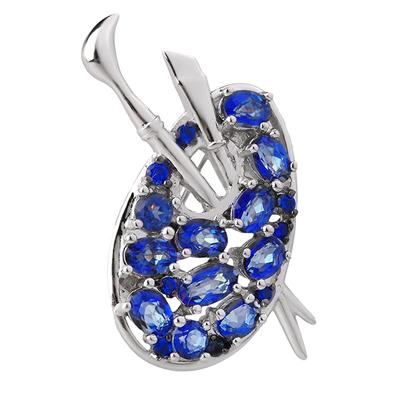 Серебряная брошь Sandara ABBR006