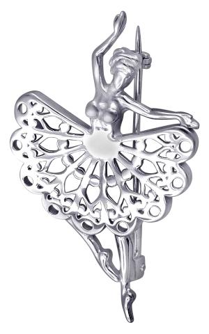 Брошь - булавка из серебра 01Ш050174