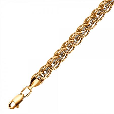 Цепочка золотая фантазийного плетения 01Ц7106250Р