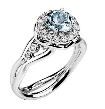 Золотое кольцо с бриллиантами 01К629683-3