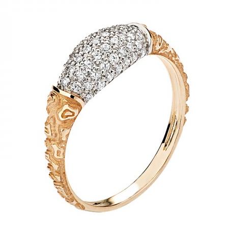 Кольцо золотое 01К1110479