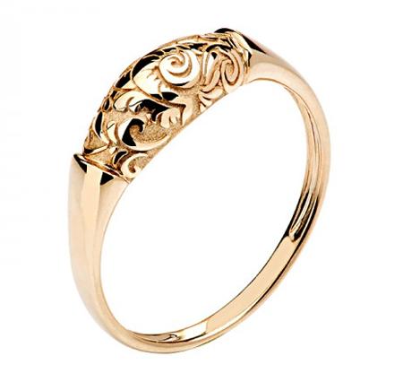 Кольцо золотое 01К0110168