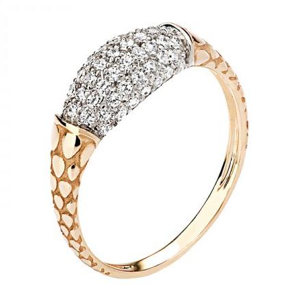 Кольцо золотое 01К1110482