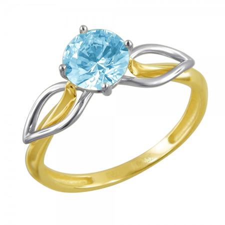 Кольцо золотое 01К2610857Ж-1