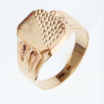 Перстень печатка из золота 01Т7111805