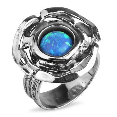 Серебряное кольцо Yaffo с опалом TZR197