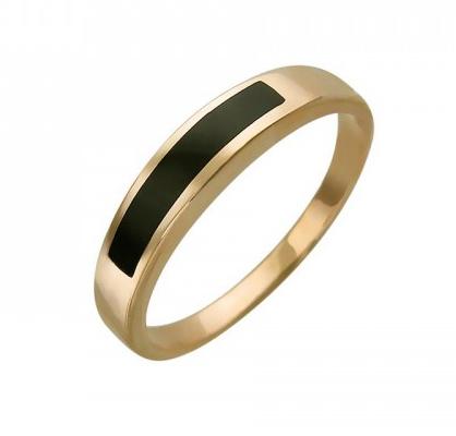 Перстень печатка из золота 01Т411652