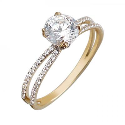 Кольцо из золота 01К1311295