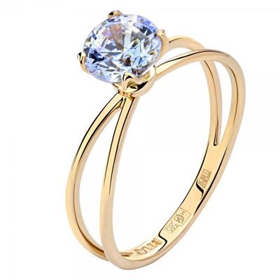 Кольцо из золота 01К2311285-1