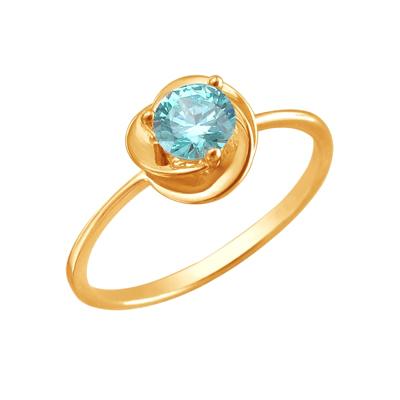 Кольцо из золота 01К2110955-3