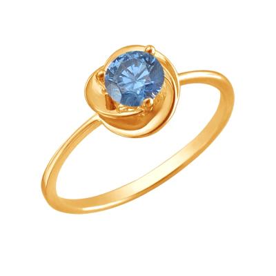 Кольцо из золота 01К2110955-8