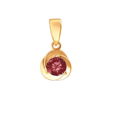 Подвеска из золота 01П2110955-9