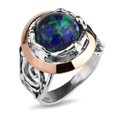 Серебряное кольцо Yaffo с лазуритом SAR1119