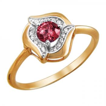 Кольцо золотое 01К2111475Р-9