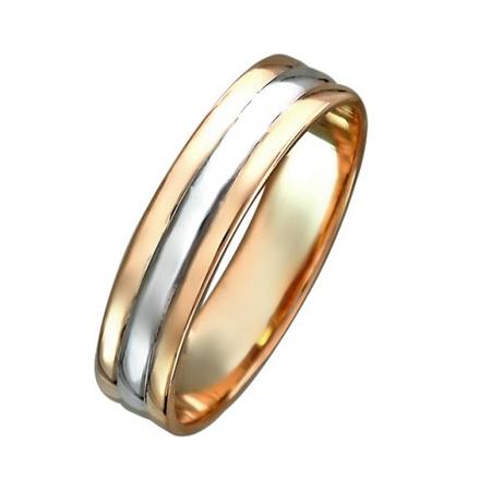Обручальное кольцо из золота 01О060277