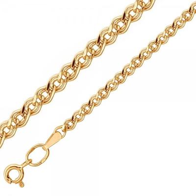 Золотая цепь плетения Нона 01Ц7105450