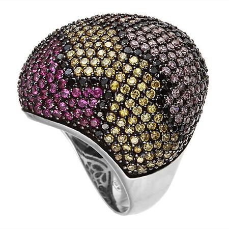 Серебряное кольцо с фианитами M0000231654