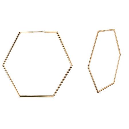 Серьги Конго из золота 01С0113214