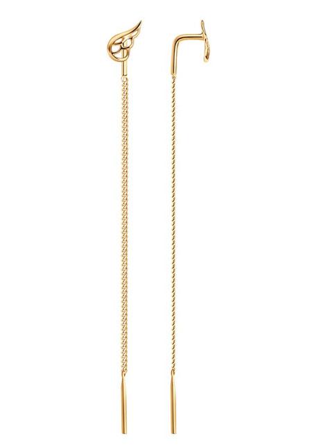 Серьги-протяжки из золота 027118