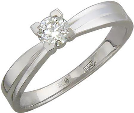 Кольцо из золота с бриллиантами 01К674417