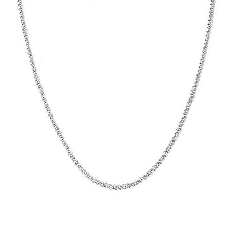 """Цепочка серебряная женская, плетение """"Нонна"""", с алмазными гранями ширина 2 мм M0000016579"""