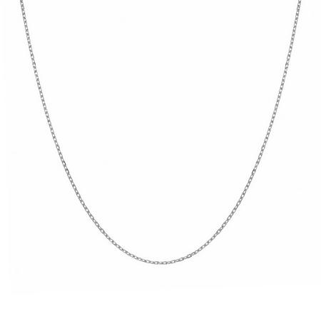 Женская цепь из серебра якорного плетения ширина 1,4 мм M0000065618