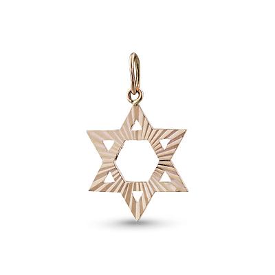 Подвеска иудейская золотая