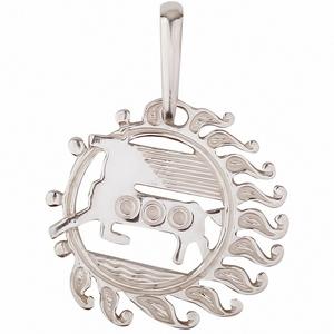 Серебряная подвеска-оберег Узор Утум ПO016