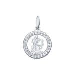Подвеска «Знак зодиака Водолей» из серебра 94031393