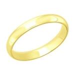 Кольцо из желтого золота 110126-2