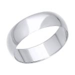Кольцо из белого золота 110029-3