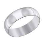 Кольцо из белого золота 110217-3