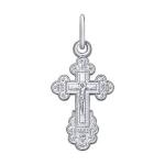 Крест из белого золота 121268-3