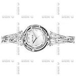 Часы Deno из серебра MVW061CZ